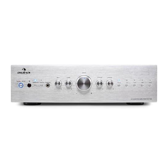 Усилитель звука Auna CD708 HiFi AUX 600W Silver