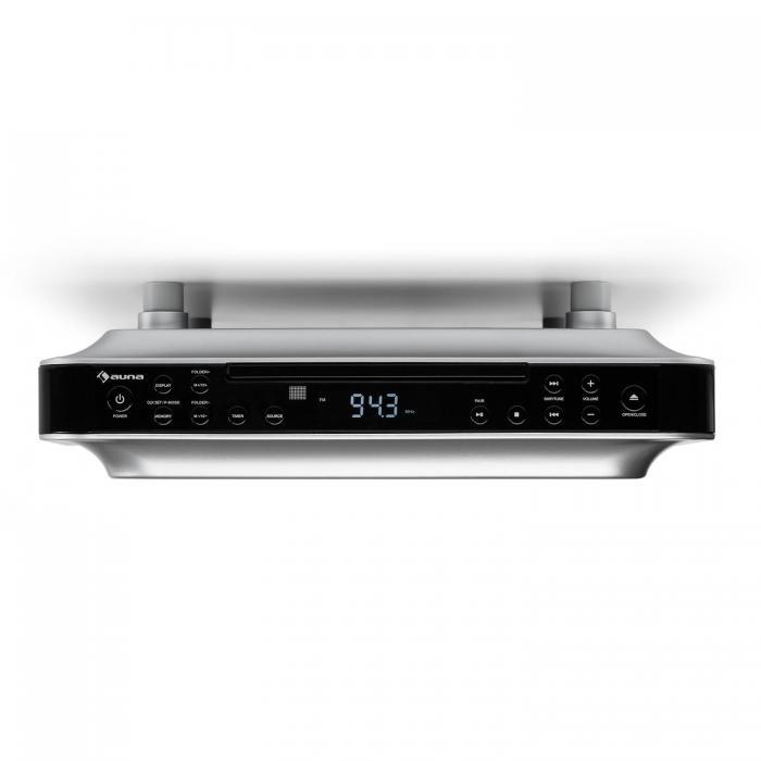 Кухонное радио Auna KRCD-100 BT FM CD MP3 BK