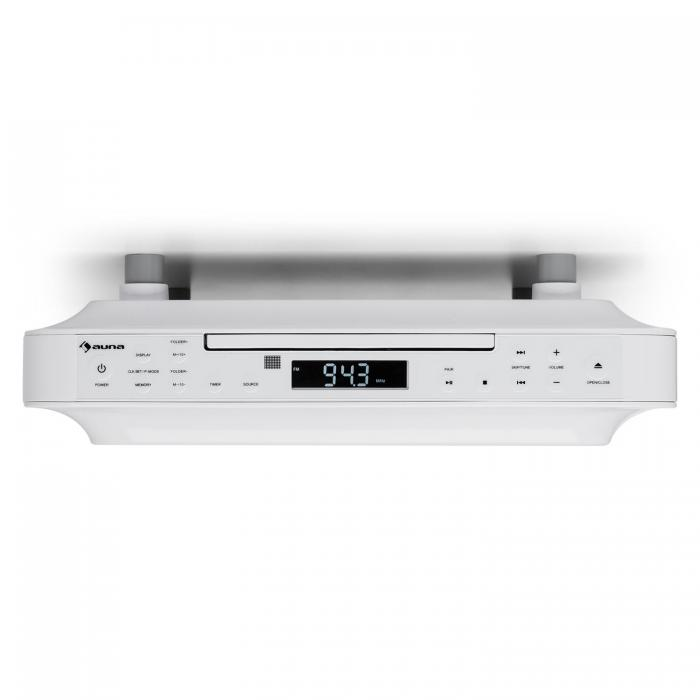Кухонное радио Auna KRCD-100 BT FM CD MP3 WH VTA10