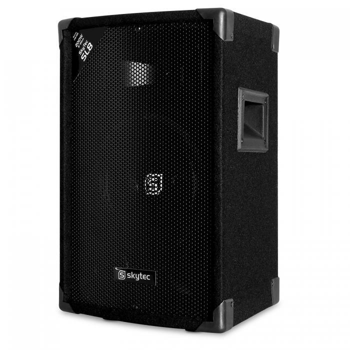 """Пассивный динамик Skytec SL8 Discobox Passive-Box НЧ-динамик 8"""" 20 см"""