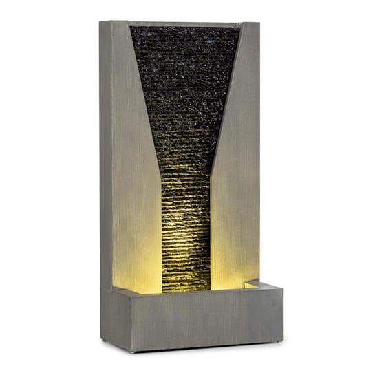 Декоративный фонтан Blumfeldt Riverrun насос 12 Вт светодиодное кольцо кабель 10 м