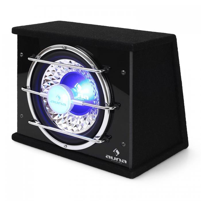 Автомобильный сабвуфер Auna CB250-34 25 см 300 Вт RMS Bassbox 600 Вт макс. AS07NCNL